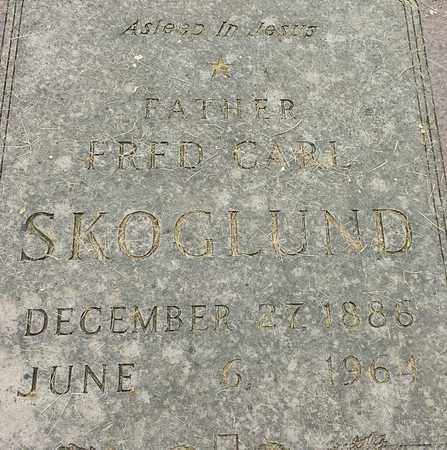 SKOGLUND, FRED CARL - Hamlin County, South Dakota | FRED CARL SKOGLUND - South Dakota Gravestone Photos