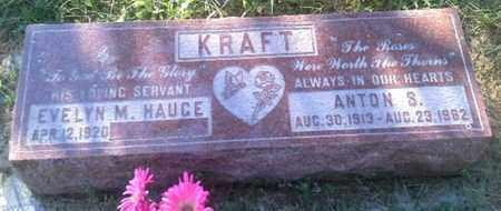 KRAFT, ANTON S - Hamlin County, South Dakota | ANTON S KRAFT - South Dakota Gravestone Photos