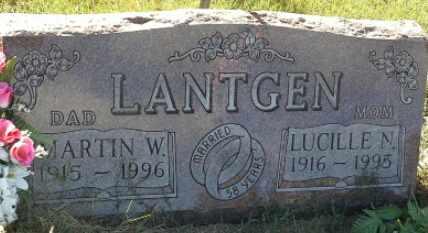 LANTGEN, LUCILLE N - Hamlin County, South Dakota | LUCILLE N LANTGEN - South Dakota Gravestone Photos
