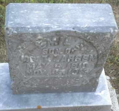 LARSEN, EMIL - Hamlin County, South Dakota   EMIL LARSEN - South Dakota Gravestone Photos