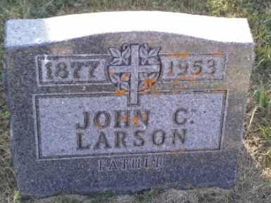 LARSON, JOHN G - Hamlin County, South Dakota   JOHN G LARSON - South Dakota Gravestone Photos
