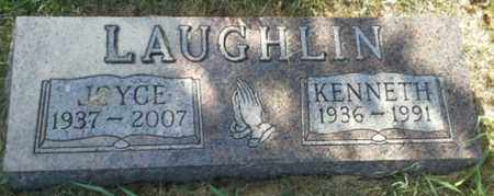 LAUGHLIN, JOYCE - Hamlin County, South Dakota | JOYCE LAUGHLIN - South Dakota Gravestone Photos