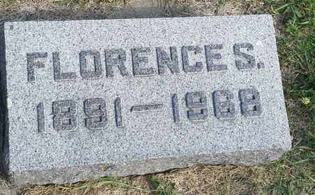 LEE, FLORENCE S - Hamlin County, South Dakota | FLORENCE S LEE - South Dakota Gravestone Photos