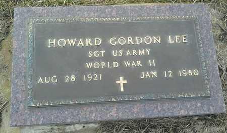 "LEE, HOWARD GORDON ""MILITARY"" - Hamlin County, South Dakota | HOWARD GORDON ""MILITARY"" LEE - South Dakota Gravestone Photos"