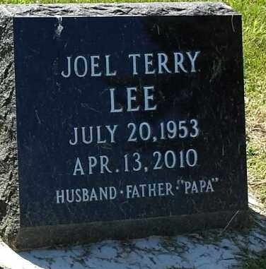 LEE, JOEL TERRY - Hamlin County, South Dakota   JOEL TERRY LEE - South Dakota Gravestone Photos