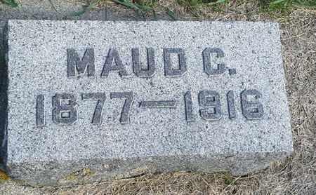 LEE, MAUD C - Hamlin County, South Dakota | MAUD C LEE - South Dakota Gravestone Photos