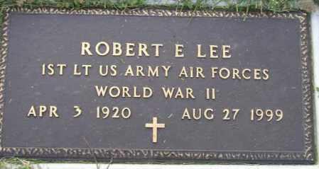 LEE, ROBERT E. (WW II) - Hamlin County, South Dakota | ROBERT E. (WW II) LEE - South Dakota Gravestone Photos