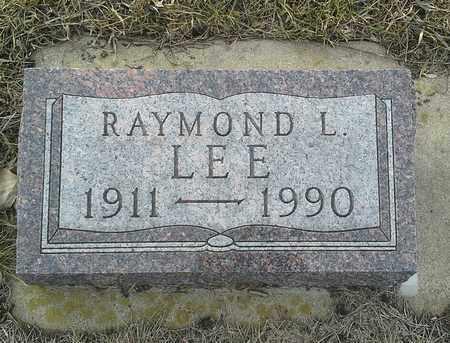 LEE, RAYMOND L - Hamlin County, South Dakota | RAYMOND L LEE - South Dakota Gravestone Photos