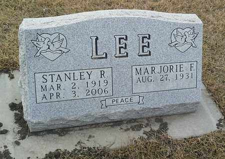 LEE, STANLEY R - Hamlin County, South Dakota | STANLEY R LEE - South Dakota Gravestone Photos