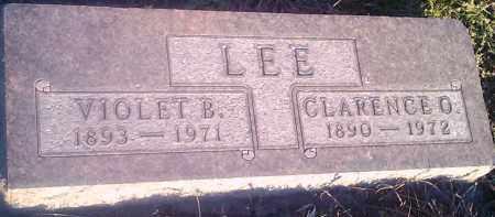LEE, VIOLET B - Hamlin County, South Dakota | VIOLET B LEE - South Dakota Gravestone Photos