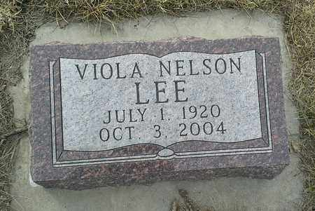 LEE, VIOLA - Hamlin County, South Dakota | VIOLA LEE - South Dakota Gravestone Photos