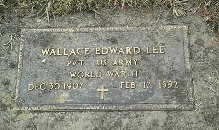"LEE, WALLACE EDWARD ""MILITARY"" - Hamlin County, South Dakota   WALLACE EDWARD ""MILITARY"" LEE - South Dakota Gravestone Photos"