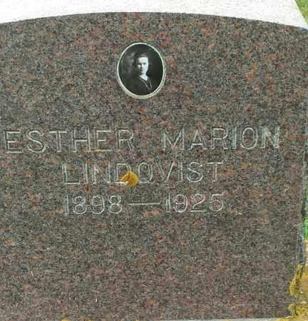 LINDQVIST, ESTHER MARION - Hamlin County, South Dakota   ESTHER MARION LINDQVIST - South Dakota Gravestone Photos
