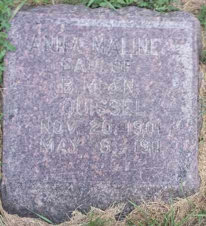 MALINE, ANNA - Hamlin County, South Dakota | ANNA MALINE - South Dakota Gravestone Photos