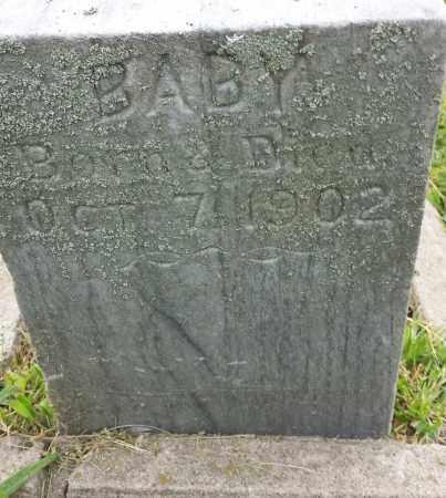 MEISE, BABY - Hamlin County, South Dakota   BABY MEISE - South Dakota Gravestone Photos