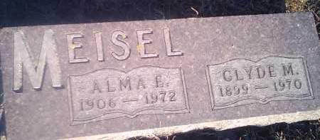 MEISEL, CLYDE M - Hamlin County, South Dakota | CLYDE M MEISEL - South Dakota Gravestone Photos