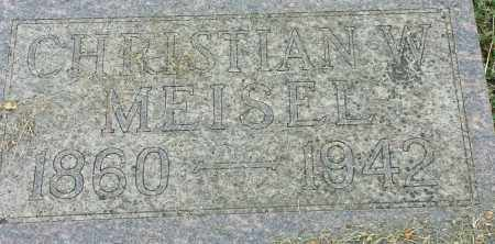 MEISEL, CHRISTIAN - Hamlin County, South Dakota | CHRISTIAN MEISEL - South Dakota Gravestone Photos