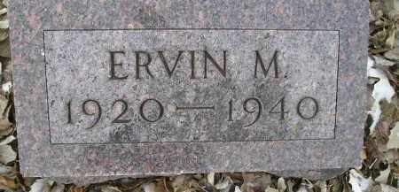 MEISEL, ERVIN M - Hamlin County, South Dakota | ERVIN M MEISEL - South Dakota Gravestone Photos