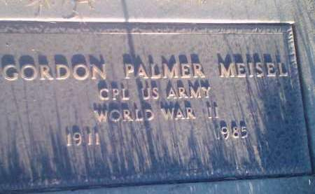 MEISEL, GORDON PALMER (MILITARY) - Hamlin County, South Dakota | GORDON PALMER (MILITARY) MEISEL - South Dakota Gravestone Photos