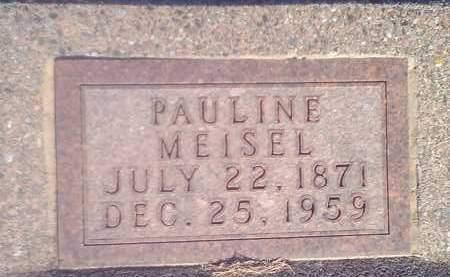 MEISEL, PAULINE - Hamlin County, South Dakota | PAULINE MEISEL - South Dakota Gravestone Photos