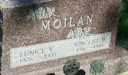 MOILAN, VINCENT W - Hamlin County, South Dakota | VINCENT W MOILAN - South Dakota Gravestone Photos