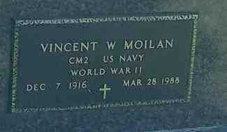 "MOILAN, VINCENT W ""MILITARY"" - Hamlin County, South Dakota 