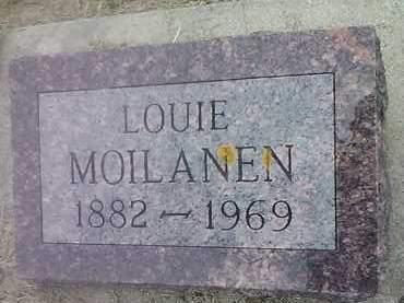 MOILANEN, LOUIE - Hamlin County, South Dakota | LOUIE MOILANEN - South Dakota Gravestone Photos