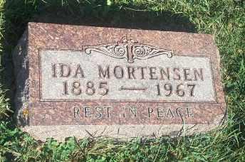 MORTENSEN, IDA - Hamlin County, South Dakota   IDA MORTENSEN - South Dakota Gravestone Photos