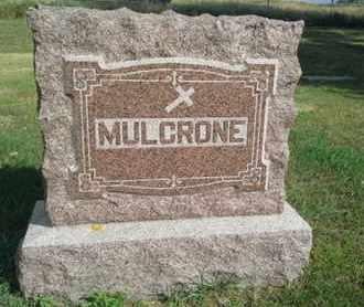 MULCRONE, FAMILY STONE - Hamlin County, South Dakota | FAMILY STONE MULCRONE - South Dakota Gravestone Photos