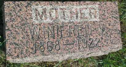 MULCRONE, WINIFRED V - Hamlin County, South Dakota   WINIFRED V MULCRONE - South Dakota Gravestone Photos