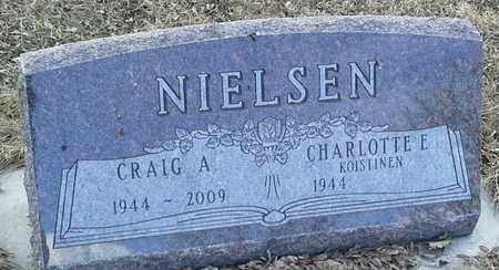 NIELSEN, CHARLOTTE E - Hamlin County, South Dakota | CHARLOTTE E NIELSEN - South Dakota Gravestone Photos