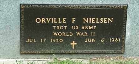 "NIELSEN, ORVILLE F ""MILITARY"" - Hamlin County, South Dakota | ORVILLE F ""MILITARY"" NIELSEN - South Dakota Gravestone Photos"