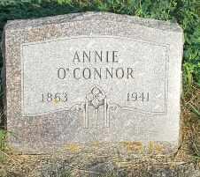 O'CONNOR, ANNIE - Hamlin County, South Dakota   ANNIE O'CONNOR - South Dakota Gravestone Photos