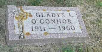 O'CONNOR, GLADYS L - Hamlin County, South Dakota | GLADYS L O'CONNOR - South Dakota Gravestone Photos