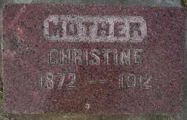 OLSON, CHRISTINE - Hamlin County, South Dakota   CHRISTINE OLSON - South Dakota Gravestone Photos