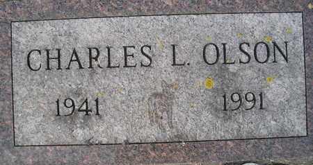 OLSON, CHARLES L - Hamlin County, South Dakota   CHARLES L OLSON - South Dakota Gravestone Photos