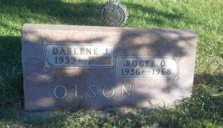 OLSON, DARLENE J - Hamlin County, South Dakota | DARLENE J OLSON - South Dakota Gravestone Photos