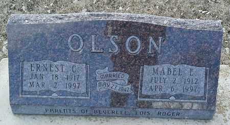 OLSON, ERNEST C - Hamlin County, South Dakota | ERNEST C OLSON - South Dakota Gravestone Photos