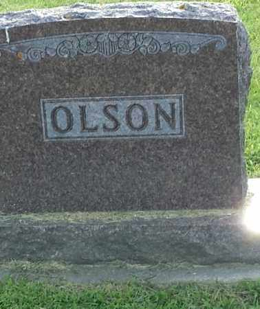 OLSON, FAMILY STONE - Hamlin County, South Dakota | FAMILY STONE OLSON - South Dakota Gravestone Photos