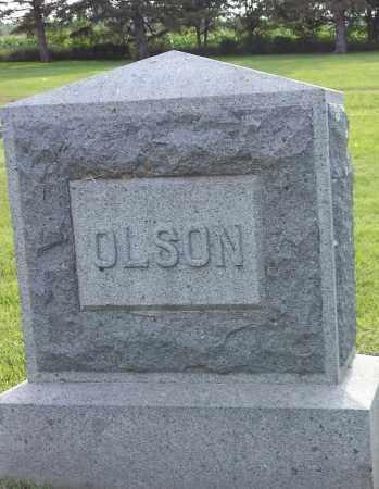 OLSON, FAMILY STONE - Hamlin County, South Dakota   FAMILY STONE OLSON - South Dakota Gravestone Photos