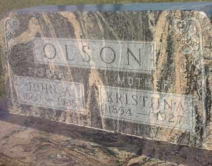 OLSON, JOHN A - Hamlin County, South Dakota | JOHN A OLSON - South Dakota Gravestone Photos