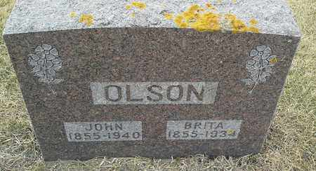 OLSON, JOHN - Hamlin County, South Dakota | JOHN OLSON - South Dakota Gravestone Photos