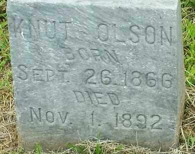 OLSON, KNUT - Hamlin County, South Dakota | KNUT OLSON - South Dakota Gravestone Photos