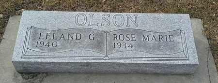 OLSON, ROSE MARIE - Hamlin County, South Dakota | ROSE MARIE OLSON - South Dakota Gravestone Photos