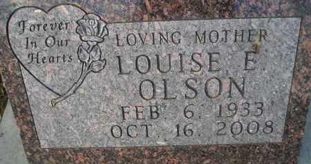 OLSON, LOUISE E - Hamlin County, South Dakota | LOUISE E OLSON - South Dakota Gravestone Photos