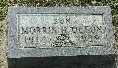 OLSON, MORRIS H - Hamlin County, South Dakota | MORRIS H OLSON - South Dakota Gravestone Photos