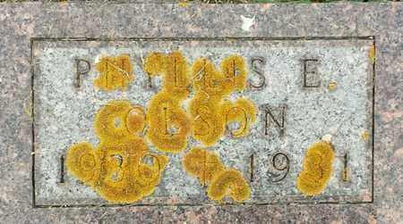 OLSON, PHYLLIS E - Hamlin County, South Dakota | PHYLLIS E OLSON - South Dakota Gravestone Photos