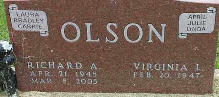 OLSON, RICHARD A - Hamlin County, South Dakota | RICHARD A OLSON - South Dakota Gravestone Photos