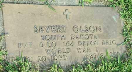 "OLSON, SEVERT ""MILITARY"" - Hamlin County, South Dakota | SEVERT ""MILITARY"" OLSON - South Dakota Gravestone Photos"