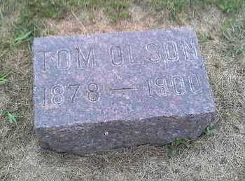 OLSON, TOM - Hamlin County, South Dakota | TOM OLSON - South Dakota Gravestone Photos